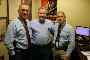 Ralph, Gill, and Sheriff Hickman